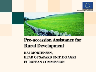 IPARD  Instrument for Pre-Accession Assistance   Rural Development