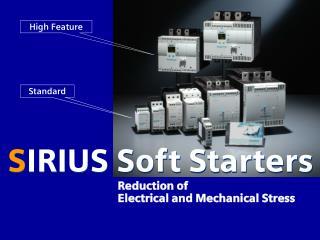 S IRIUS Soft Starters