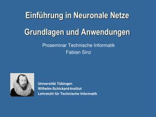 Motivation Eigenschaften biologischer Neuronen Eigenschaften künstlicher Neuronen