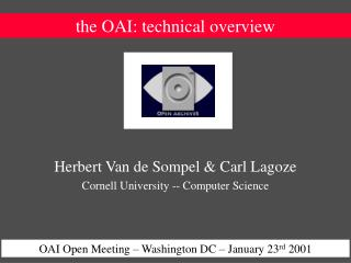 the OAI: technical overview
