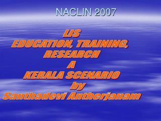 NACLIN 2007