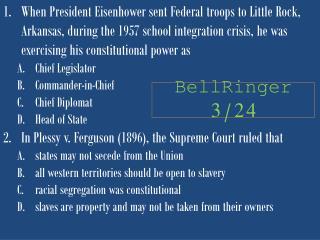 BellRinger  3/24