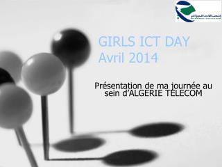 GIRLS ICT DAY Avril 2014