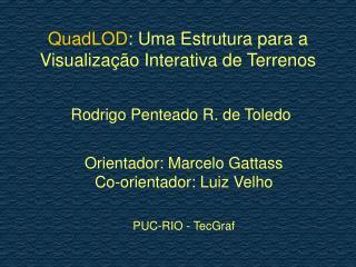 QuadLOD : Uma Estrutura para a Visualização Interativa de Terrenos