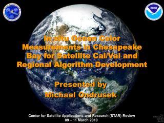 Presented by Michael Ondrusek