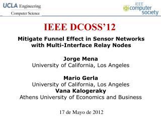 IEEE DCOSS�12