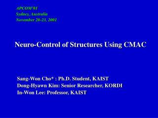 Sang-Won Cho* : Ph.D. Student, KAIST    Dong-Hyawn Kim: Senior Researcher, KORDI