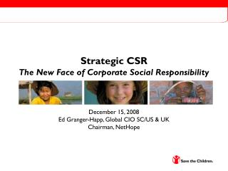 Strategic CSR The New Face of Corporate Social Responsibility