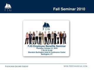 Fall Seminar 2010