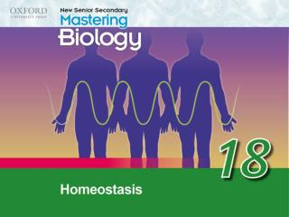 Think about… 18.1	The concept of homeostasis 18.2	Regulation of blood glucose level