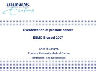 Overdetection of prostate cancer ESMO Brussel 2007