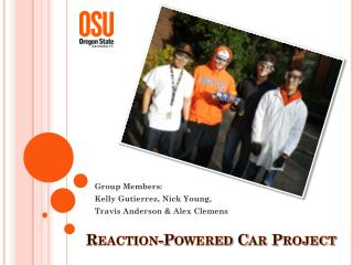 Reaction-Powered Car Project
