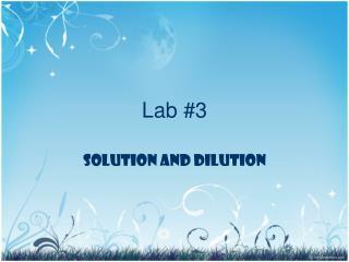 Lab #3