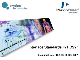 Interface Standards in HCS?!