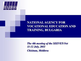 NATIONAL AGENCY FOR VOCATIONAL EDUCATION AND TRAINING, BULGARIA