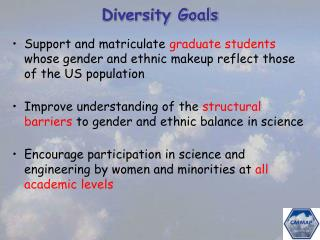 Diversity Goals