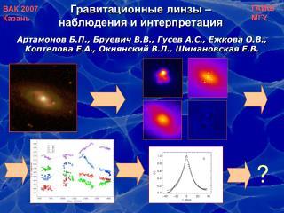 Гравитационные линзы – наблюдения и интерпретация
