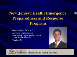 New Jersey: Health Emergency Preparedness and Response Program