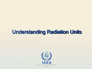 Understanding Radiation Units