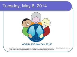 Tuesday, May 6, 2014