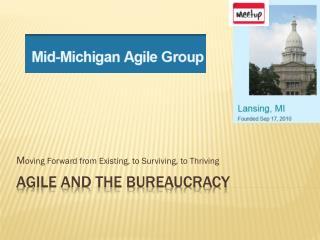 Agile and the Bureaucracy