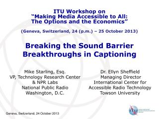 Breaking the Sound Barrier Breakthroughs in Captioning