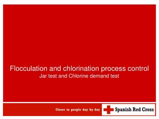 Flocculation and chlorination process control Jar test and Chlorine demand test