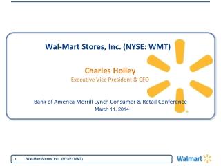 Health Care at Wal-Mart