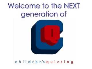 Welcome to the NEXT generation of