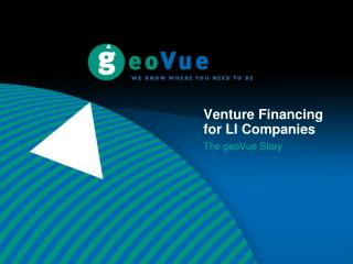 Venture Financing for LI Companies