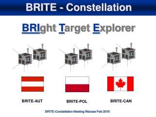 BRITE - Constellation