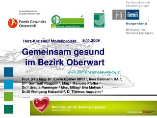 Gemeinsam gesund im Bezirk Oberwart