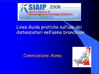 Linee Guida pratiche sull'uso dei distanziatori nell'asma bronchiale