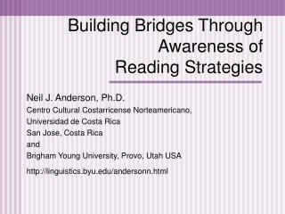 Building Bridges Through Awareness of Reading Strategies