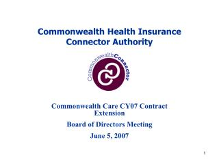 Commonwealth Health Insurance  Connector Authority