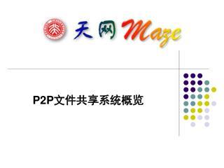 P2P 文件共享系统概览