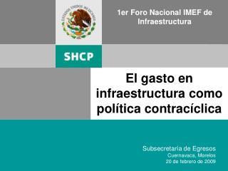 1er Foro Nacional IMEF de Infraestructura