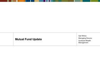 Mutual Fund Update