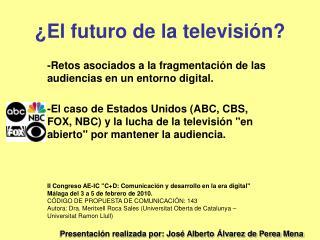 ¿El futuro de la televisión?