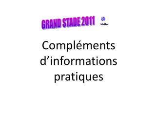 GRAND STADE 2011