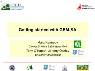 Getting started with GEM-SA