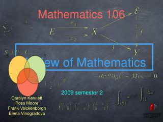 Mathematics 106