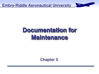 Documentation for Maintenance