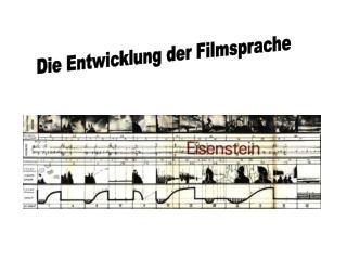 Die Entwicklung der Filmsprache