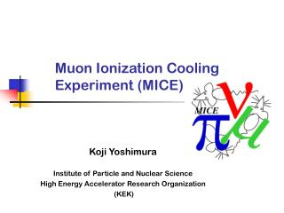 Muon Ionization Cooling Experiment (MICE)