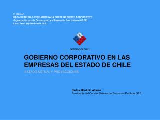 GOBIERNO CORPORATIVO EN LAS EMPRESAS DEL ESTADO DE CHILE