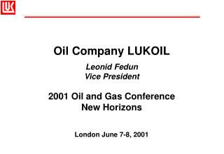 Oil Company LUKOIL