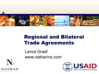 Regional and Bilateral Trade Agreements