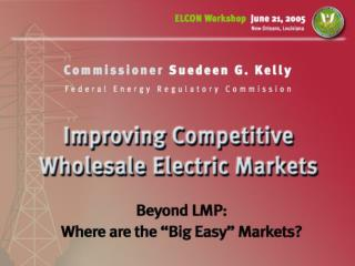 Markets and Jurisdictions are Complex Natural Gas & Electric Market Space