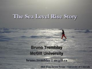 The Sea Level Rise Story